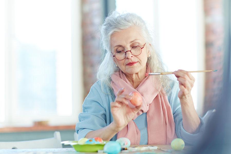 Wielkanoc seniora – inspiracje
